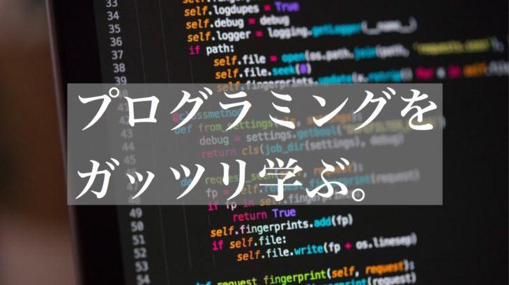 在宅で『ガッツリ』学ぶ。プログラミングで転職を狙おう。